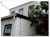 Siding and gutters